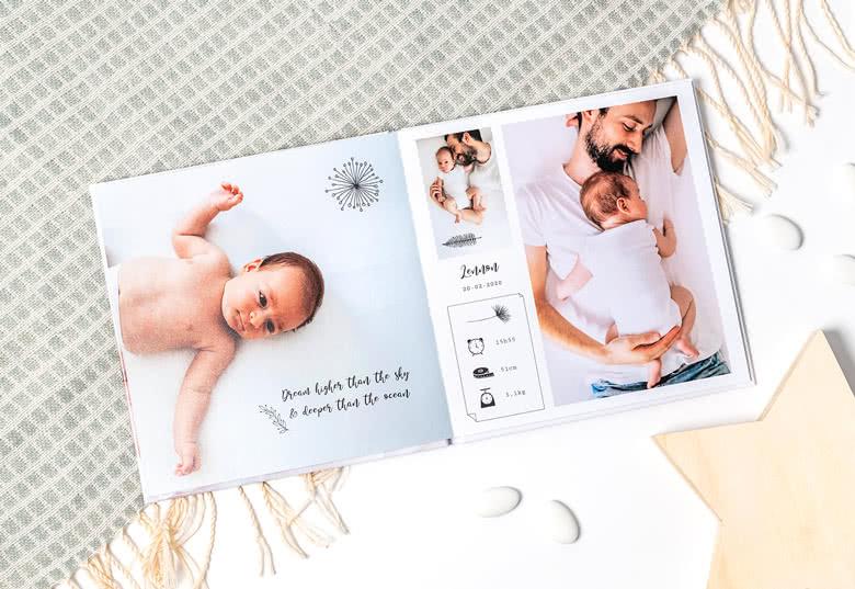 Moederdagcadeau opsturen met kaartje: Fotoboek