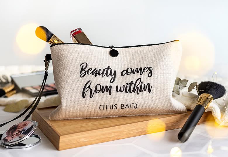 Moederdag ideeën: make-up tasje
