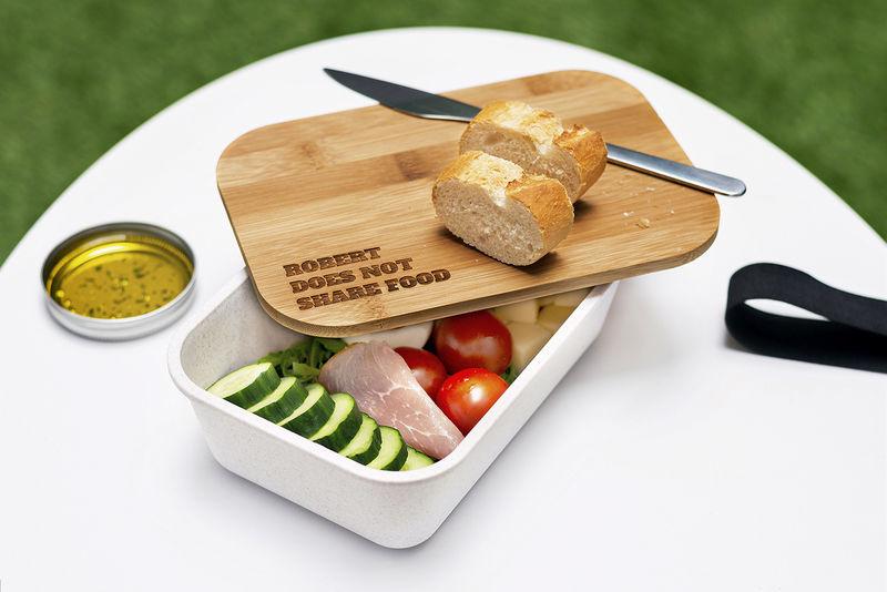 Duurzame en plasticvrije producten: lunchbox met bamboe deksel