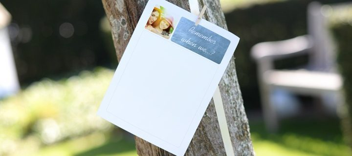Personalised wish leaves: the new party trend! (part 1)