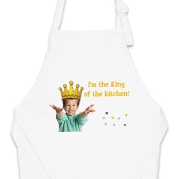 Personalised kid's apron