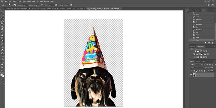 Screenshot Photoshop PNG