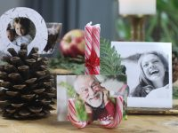 DIY VIDEO – 3 Christmas place card ideas – One minute craft