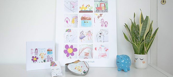 DIY VIDEO – How to organise and display your child's artwork