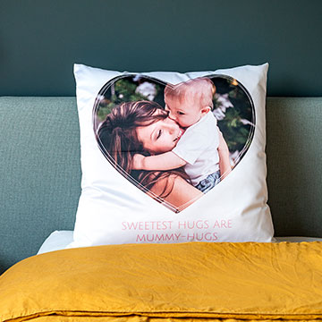 Pillows with photo