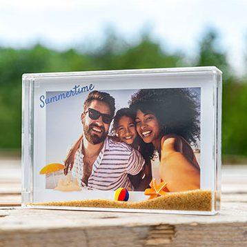 Sand Photo frame