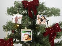 DIY VIDEO How to make a photo Christmas tree decoration 🎄
