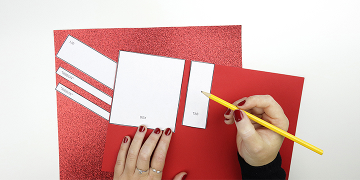How to make a Christmas Present Pop-Up Card