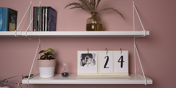 DIY VIDEO - How to make your own modern photo calendar!
