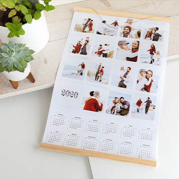 Photo calendars - the year at a glance