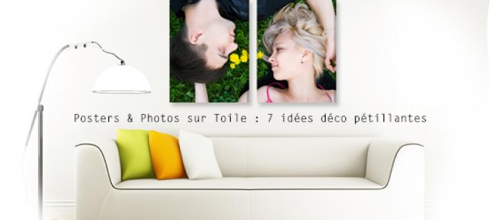 Posters & Photos sur Toile : 7 idées déco pétillantes