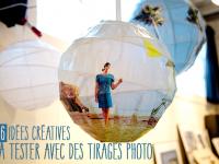 6 idées créatives à tester avec un tirage photo