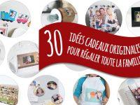 A la recherche d'un cadeau original ? 30 idées pour toute la famille !