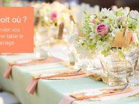 Plan de table mariage : 8 manières créatives de convier vos invités à la bonne table