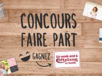 Concours faire-part : Partagez votre faire-part et tentez de gagner un week-end à Efteling !