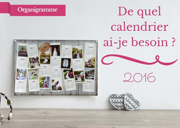 calendrier photo 2016