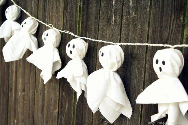 DIY déco halloween : guirlande d'halloween