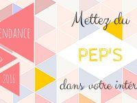 Tendance déco 2016 : des idées qui donnent du pep's à votre intérieur !