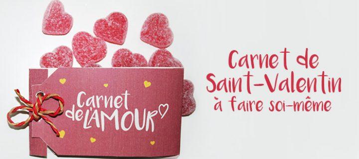 Idée cadeau Saint-Valentin à faire soi-même