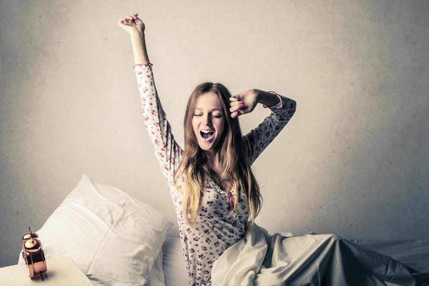 les bonnes résolutions: se lever 10 minutes plus tôt