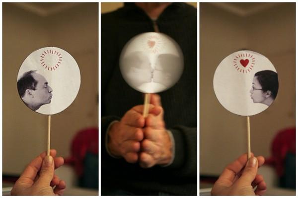 idee cadeau saint valentin originale: illusion optique