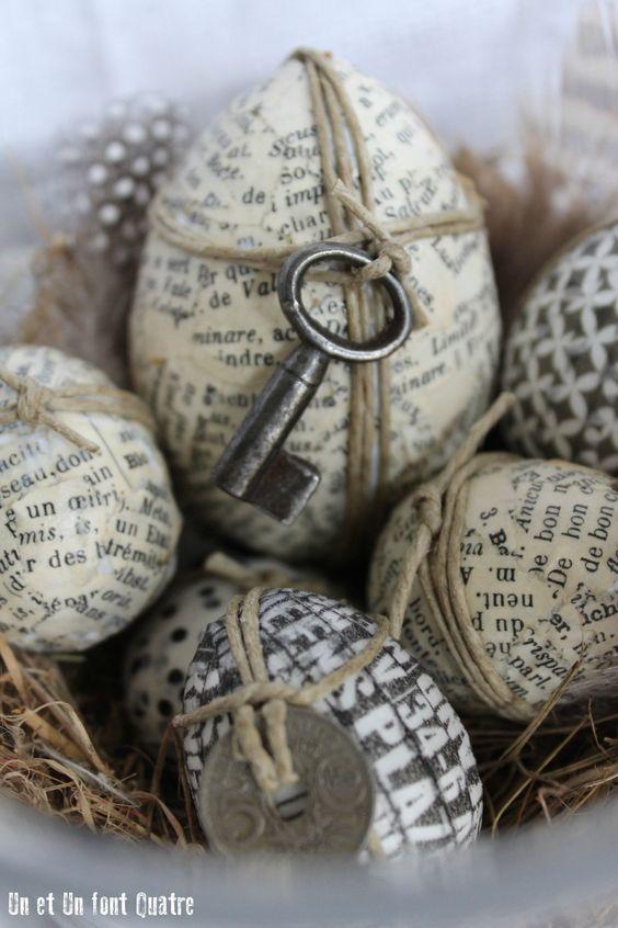 déco de Pâques à faire soi-même
