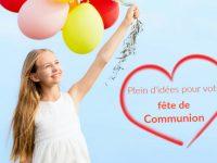 Préparation 1ère communion et communion solennelle : toutes les idées décos, cadeaux & invitations