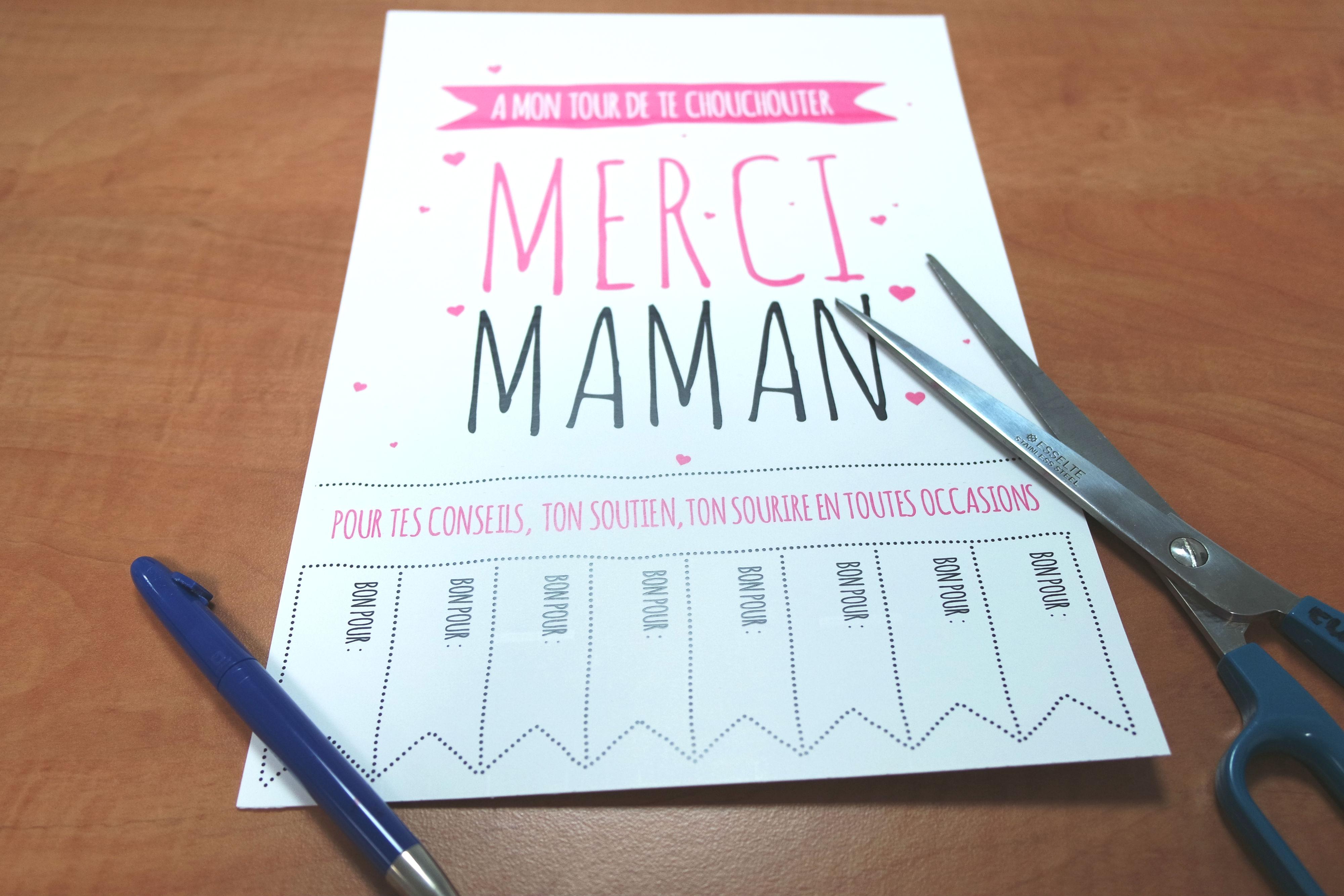 2e95c698332 Idée cadeau pour Maman ♥ DIY fête des mères à imprimer