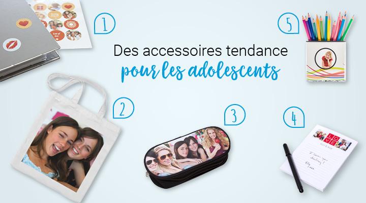 fourniture scolaire : des accessoires tendance pour les adolescents
