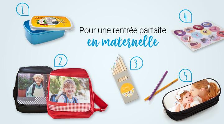 Fourniture scolaire personnalisée Pour une rentrée parfaite en maternelle : Aperçu du matériel smartphoto