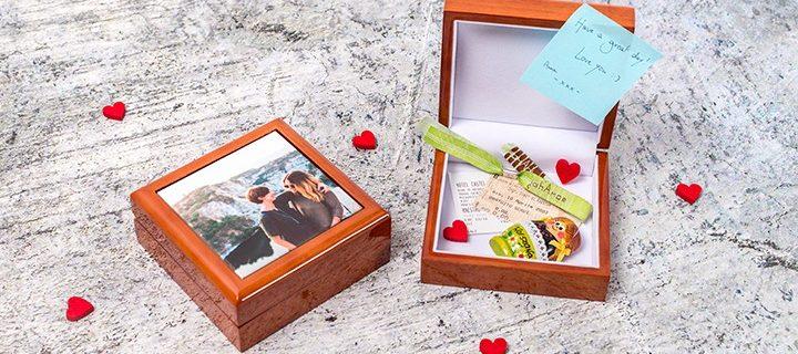 6 idées pour un cadeau de Saint-Valentin original