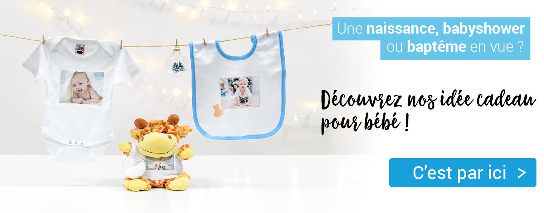Cliquez sur l'image pour voir les Idees de cadeau-photo pour bébé de smartphoto