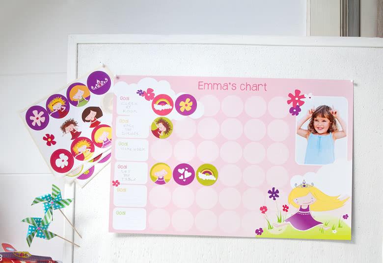 Tableau de motivations de smartphoto (modèle fille et garçon disponibles)