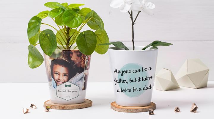 pots de fleur personnalisable smartphoto