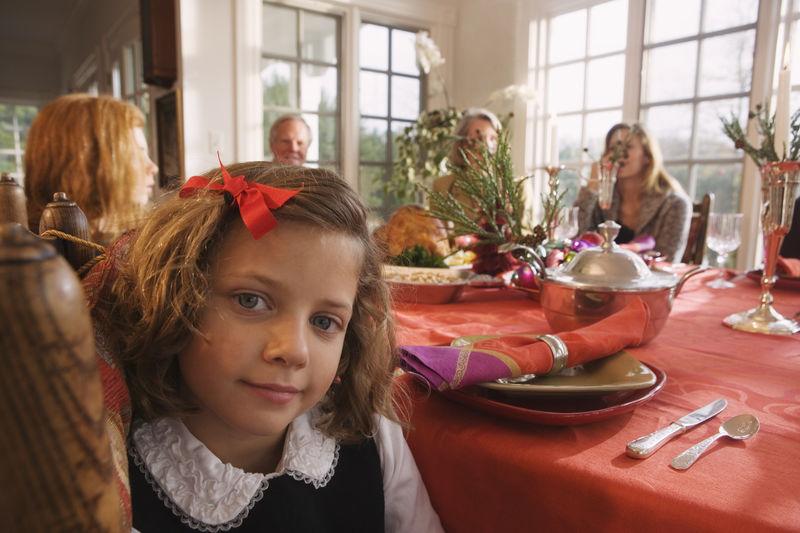 la table des enfanst - Réveillon de Noël sans stress