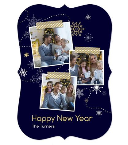 happy new year - carte de noël