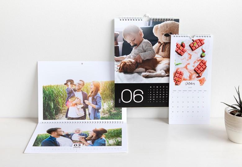 Idée cadeau original pour Noel - calendrier personnalisé