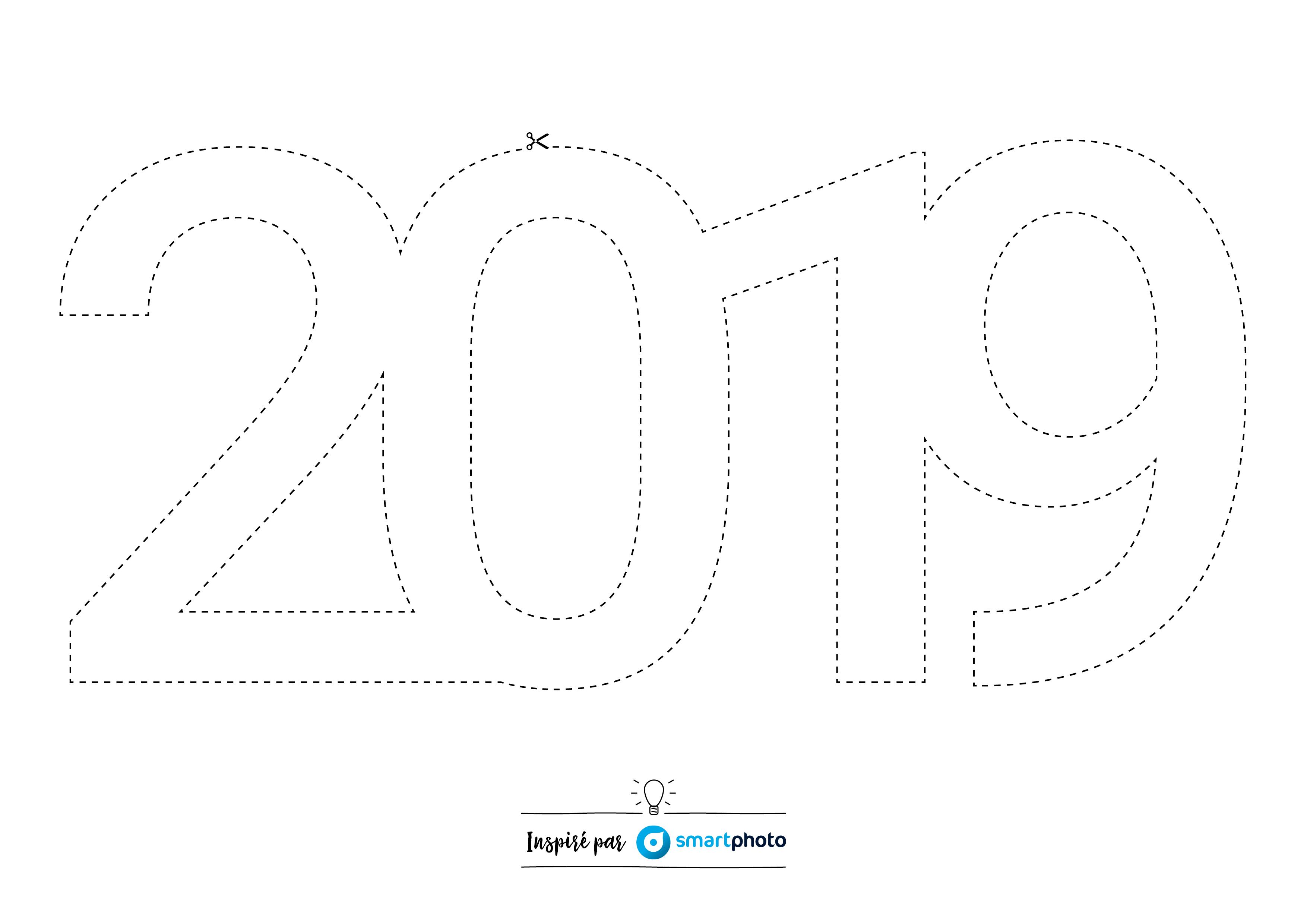 Carte voeux 2019 messenger