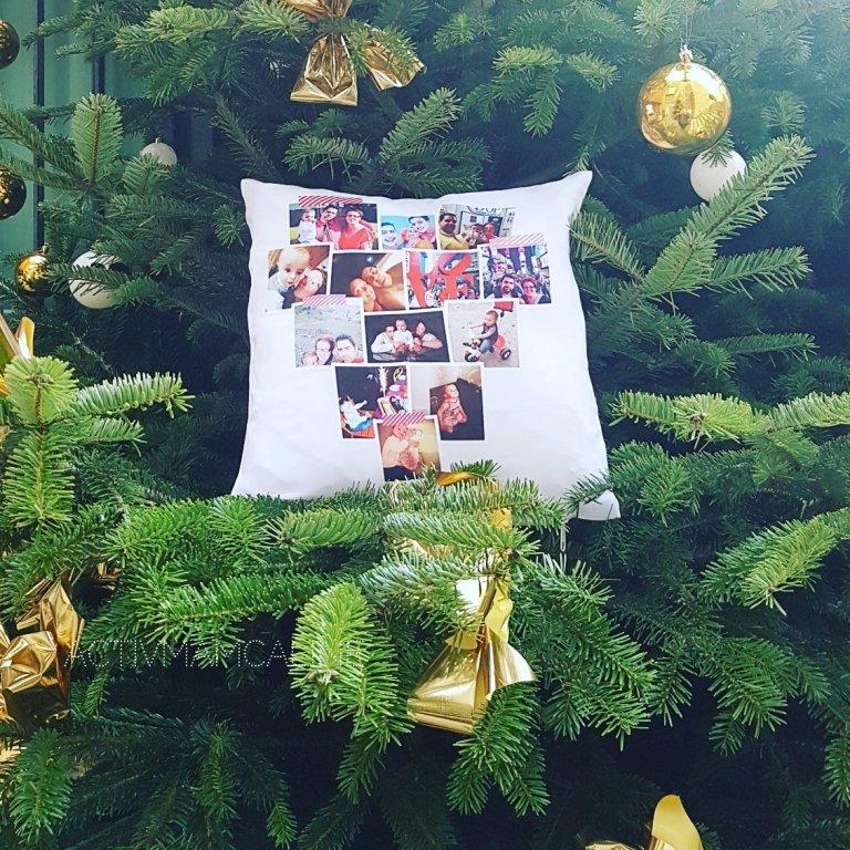 6 idées créatives de nos clients pour Noël - le coussin rétrospective de l'année
