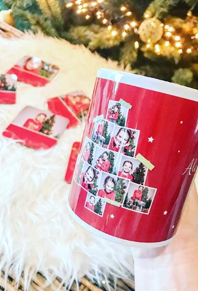6 idées créatives de nos clients pour Noël - tasse de Noël