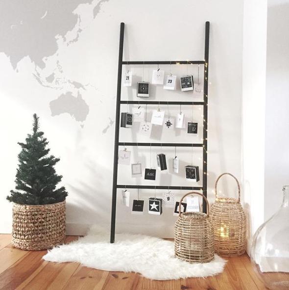 6 idées créatives de nos clients pour Noël - un calendrier de l'avent décoratif