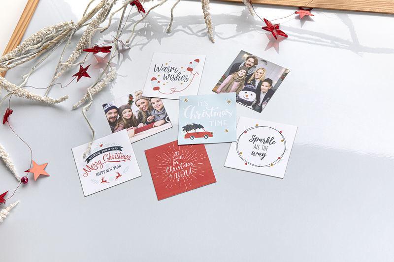 Cadeau de Noël original - Magnets souples sur le thème de Noël