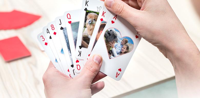 Idée cadeau original pour Noel - jeu de cartes personnalisé