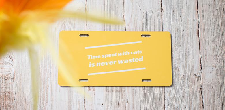 Idée cadeau original pour Noel -  plaque de porte personnalsiée