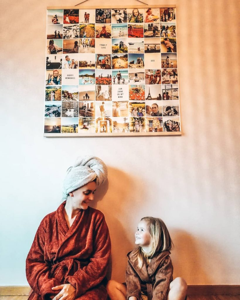 Idée créative confinement -  déco murale famille