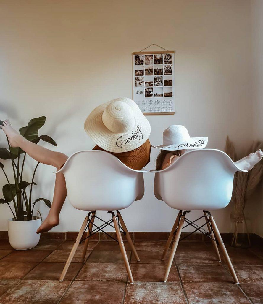 Idée créative confinement -  comme des vacances mais à la maison