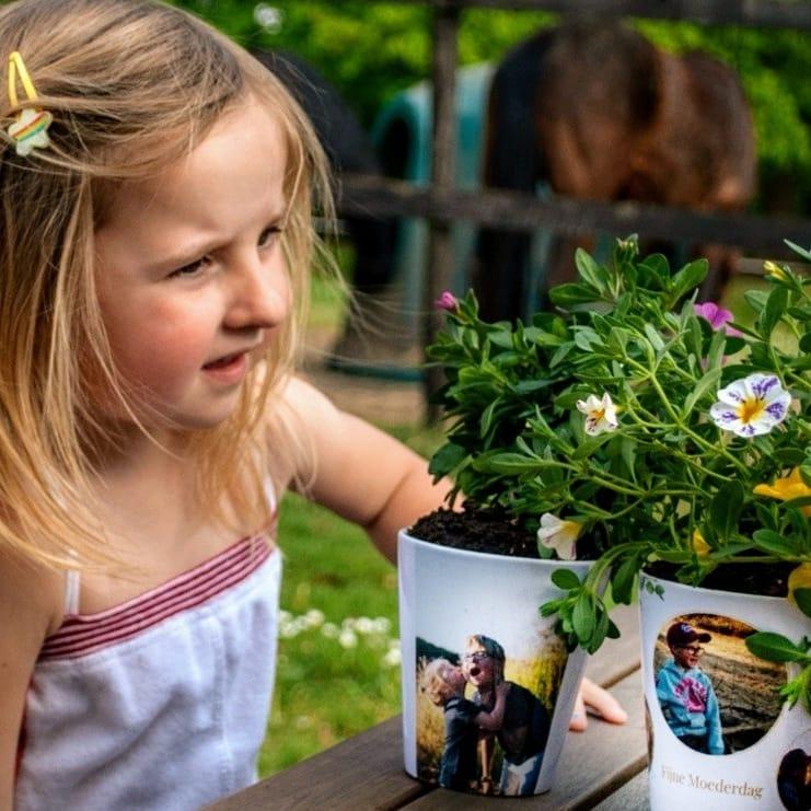 Idée créative confinement - pots de fleurs pour la fête des mères