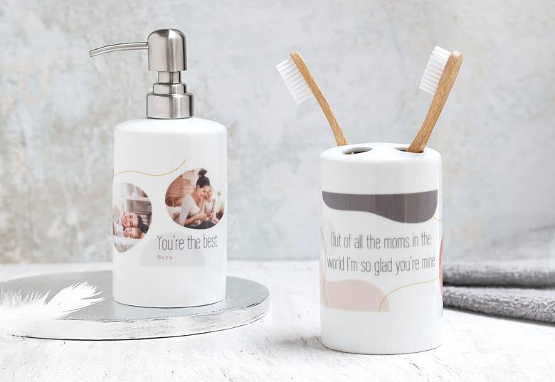 Kit de salle de bain en céramique smartphoto