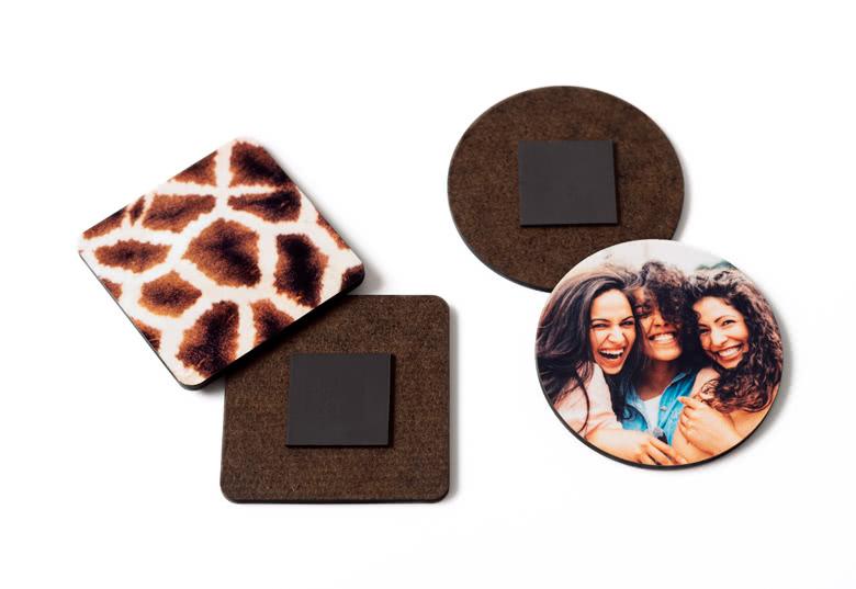 magnets personnalisés smartphoto sans plastique grâce à l'utilisation d'un nouveau matériau