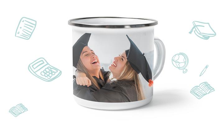 mug personnalisé pour jeune diplômé